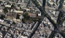 vue aérienne de la médiathèque