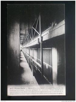 La prison vue des cellules