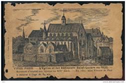 Saint Lazare en 1632