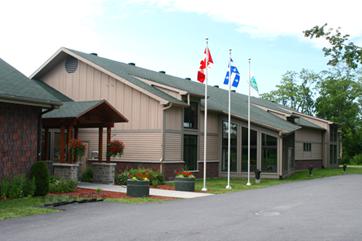 Bibliothèque de Saint-Lazare au Québec