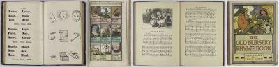 Ensemble d'imagiers grammaticaux et de de nursery rhymes
