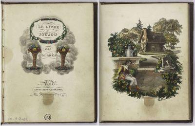 Le Livre Joujou, JP Brès, 1831.