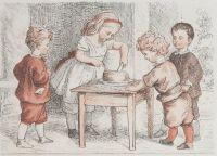 L'arithmétique de Mademoiselle Lili, vignette par Frölich, J. Hetzel, 1867. Source gallica.bnf.fr / Ville de Paris / Fonds Heure Joyeuse