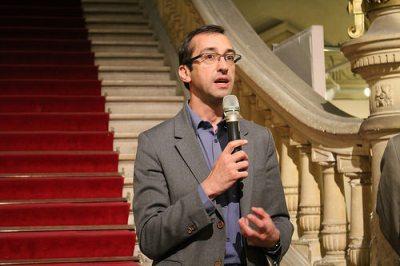 Rémi Féraud, Maire du 10e arrondissement Source : ActuaLitté, CC BY SA 2.0