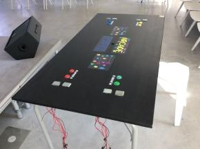 L'arcade table : un projet innovant, collaboratif etludique