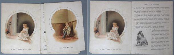 Avant / après : Il y avait une fois..., Théodore Lefèvre et Cie, Emile Guérin, éditeur, [ca. 1890], cote : FA in4 92