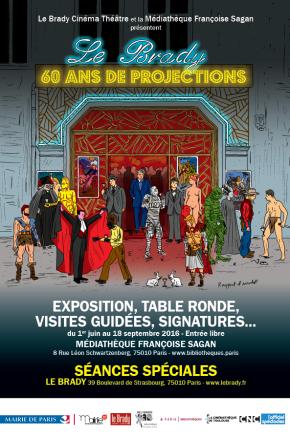 Rencontre avec Gilles Chétanian, commissaire de l'exposition «le Brady, 60 ans de projections»