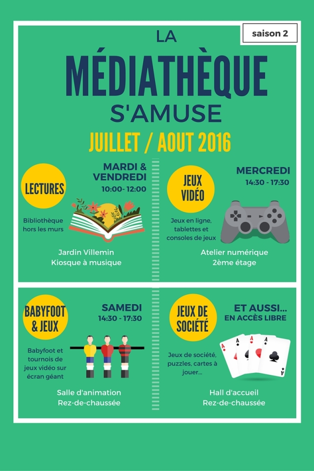 mediatheque s'amuse sport