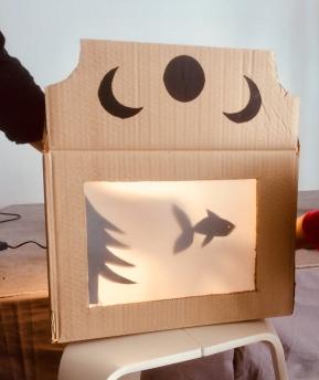 Les DIY de l'été : petit théâtred'ombres