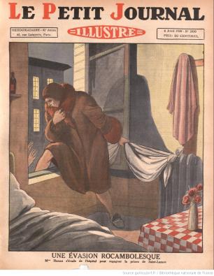 L'évasion de Marthe Hanau, Le petit journal