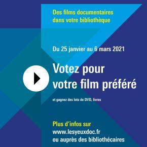 Prix du public Les yeux doc – 1èreédition